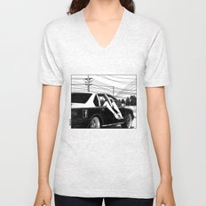 asc 600 - Les lendemains (Tomorrow's Just Another Day) Unisex V-Neck