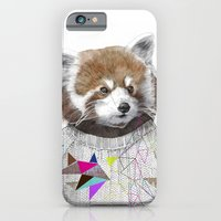 iPhone & iPod Case featuring RED PANDA by Jamie Mitchell and Kris Tate by Kris Tate