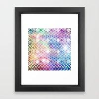 Tribal Stardust  Framed Art Print