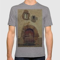 The Red Door Mens Fitted Tee Athletic Grey SMALL
