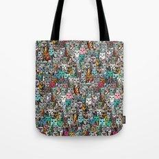Gemstone Cats Tote Bag