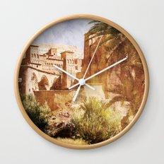 Village Morocco Wall Clock