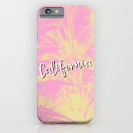 iPhone & iPod Case featuring Greetings From Cali by Hanna Kastl-Lungberg