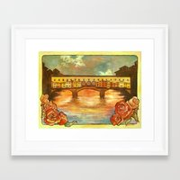 Ponte Nouveau Framed Art Print