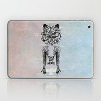 DeadBird FoxMan. Laptop & iPad Skin