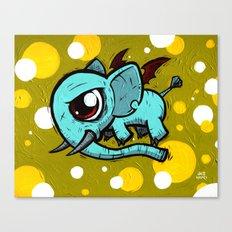 Evil Elefly Canvas Print