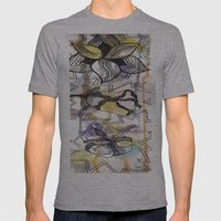 be Mens Fitted Tee Athletic Grey SMALL
