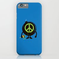 iPhone & iPod Case featuring peace not war by Steven Toang