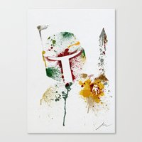 Bounty hunter Canvas Print