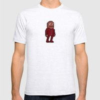 Choco, Survie Jumpsuit Mens Fitted Tee Ash Grey SMALL