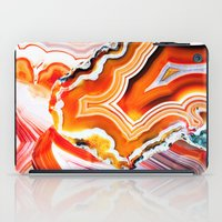 The Vivid Imagination of Nature, Layers of Agate iPad Case