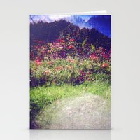 Flowers Plastic Camera D… Stationery Cards