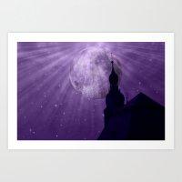 Starry Night - JUSTART �… Art Print