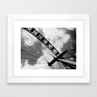 London - The Eye Framed Art Print