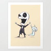 Invader Jack!  Art Print