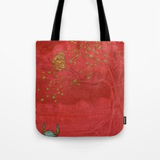The Crab and the Monkey Tote Bag