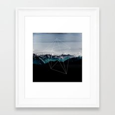 Mountains II Framed Art Print
