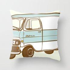 Econoline Throw Pillow