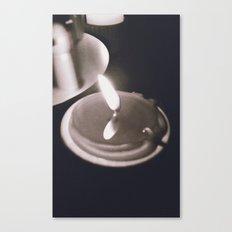 Light Flame Canvas Print
