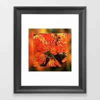 Floral Compositions in the Sunshine Framed Art Print