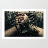 TIL DEATH DO US PART Art Print