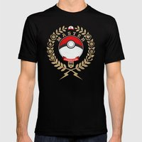 PokéMaster Mens Fitted Tee Black SMALL