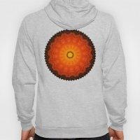 Velvet Sunflowers Motif -- Vibrant Autumn Hues Hoody