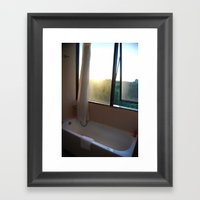 Light Bath Framed Art Print