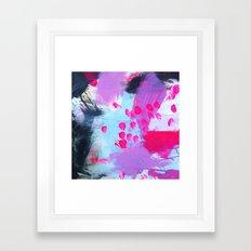 Water sprinkle: deep analysis Framed Art Print