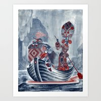 The River Styx Art Print