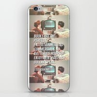 the perfect entertainment  iPhone & iPod Skin