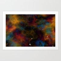 Final Frontier Abstract 2 Art Print