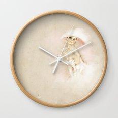 I am a lady Wall Clock