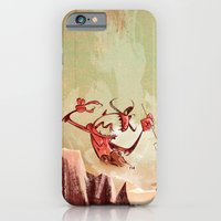 iPhone & iPod Case featuring The Devil is a Jerk by David Finley