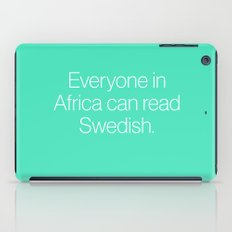 Mean Girls #7 – Swedish iPad Case
