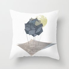 The Rock of Humanity Throw Pillow
