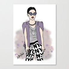 New York Style Canvas Print