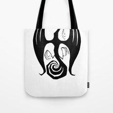 Black Phoenix Rise Tote Bag