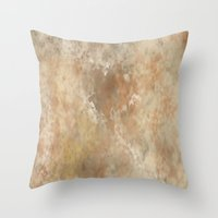 Venus Expanded  Throw Pillow