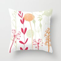 Sketches From Holiday2 Throw Pillow