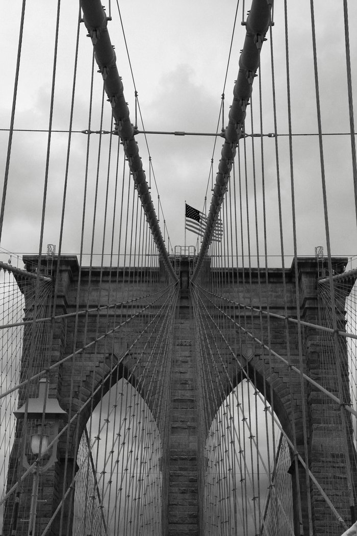 brooklyn bridge cables art print by christiane w schulze art and photograph society6. Black Bedroom Furniture Sets. Home Design Ideas
