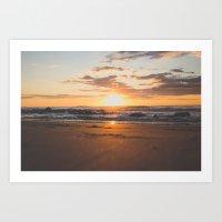 Maine Sunrise Art Print