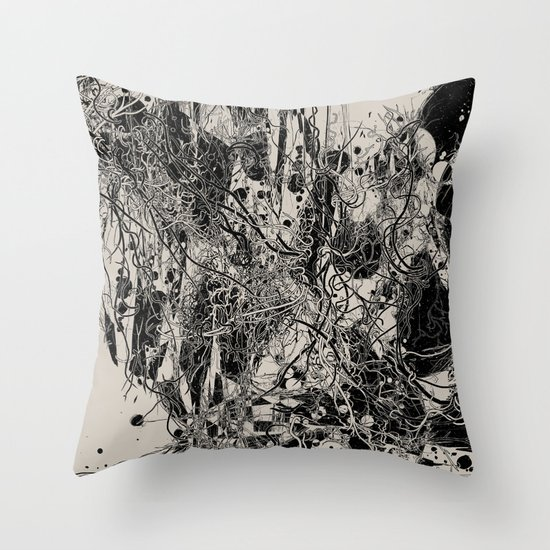 Coexistence Throw Pillow