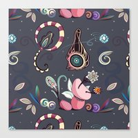 camtric fantasy pattern Canvas Print