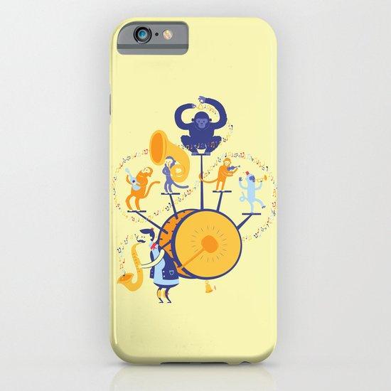One man (five monkey) band iPhone & iPod Case