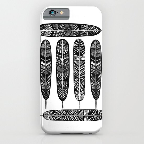 Six Feathers iPhone & iPod Case