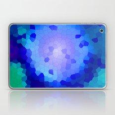 Aqua Stained Laptop & iPad Skin