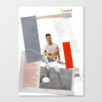 Football Fashion #7 Canvas Print