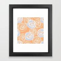 Rose Bud Framed Art Print
