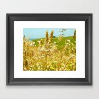Fort Brag Seaglass Beach… Framed Art Print